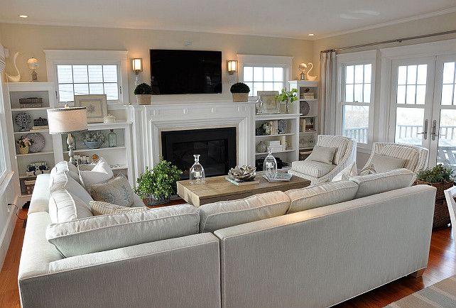 Living Room interior decor services in London Ontario | Mati Design | Interior Decorator